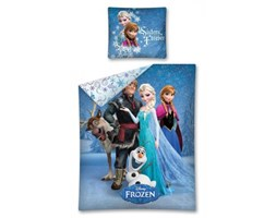 Pościel Frozen 140x200 Kraina Lodu 06 9678 Detexpol
