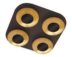 Rabalux 2556 - LED Plafon BRIGITTE 4xLED/5W/230V brązowy