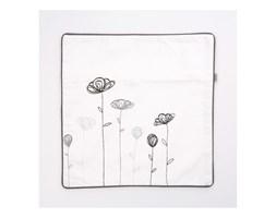 Poszewka dekoracyjna Kwiaty Altom Design, 40x40 cm, beż/brąz