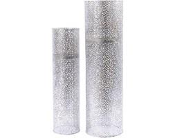 Stojący lampion Silver 80 cm