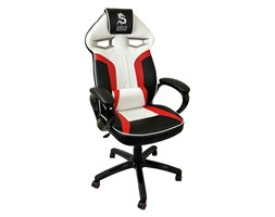 Fotel obrotowy gamingowy DRAGON Black/Red/White