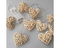 LED Łańcuch dekoracyjna RATTAN HEART LED/2xAA