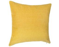 Poduszka dekoracyjna ze zdejmowaną poszewką, niewielka i w kształcie kwadratu, dobra ozdoba do salonu.