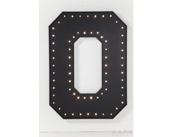 KARE Design :: Wall Light O Black LED