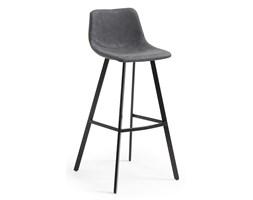 Hoker/krzesło barowe RODEC grafitowe