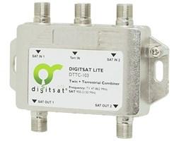 DigitSat DTTC-103 Twin sumator SAT + DVB-T