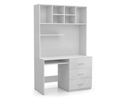 biurko z nadstawką RAJ 3 biały połysk