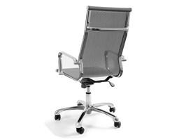 Krzesło obrotowe Unique Drafty szare kod: WX-14A-8 - do kupienia: www.superwnetrze.pl