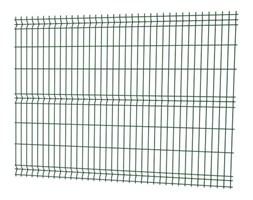 Panel ogrodzeniowy 3D 153 x 250 cm oczko 20 x 7,5 cm drut 3,2 mm ocynkowany zielony