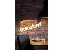 HOMELAND LEDON świecący napis na ścianę neon