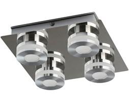 Oświetlenie sufitowe do łazienki - chromowane - 4 punkty LED DeMarkt Techno
