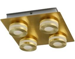 Oświetlenie sufitowe do łazienki - matowe złoto - 4 punkty LED DeMarkt Techno