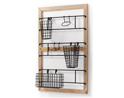 ADRIAN Wall rack natural wood