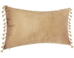 Poduszka z frędzlami, luksusowa ozdoba wnętrz