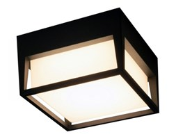 PP P 1345B IP54 PLAFON ZEWNĘTRZNY OGRODOWY ALUMINIUM GRAFITOWY RAL7016 HERMETYCZNY LED