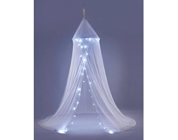 Baldachim Lana z lampkami LED