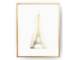 Plakat Z Wieżą Eiffla