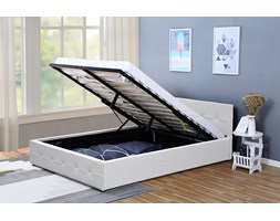 łóżka Do Sypialni 150x200 Cm Z Pojemnikiem Na Pościel