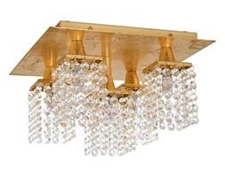 Eglo 97721 - LED Plafon kryształowy PYTON GOLD 5xG9/3W/230V