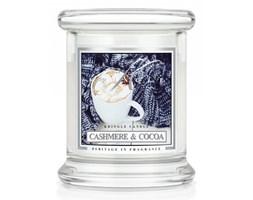 Kringle Candle - Cashmere & Cocoa - mini, klasyczny słoik (128g)