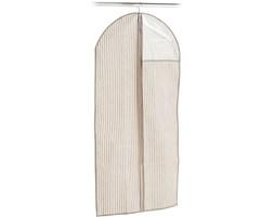 0e7d30b059d1b Pokrowiec na garnitur z przezroczystym okienkiem, tekstylna osłona na  ubrania - 120 x 60 cm