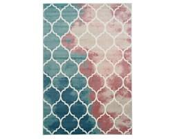Dywan Inspiration 5796 pastelowy różowo-turkusowy
