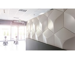 Panel scienny 3D Cubic
