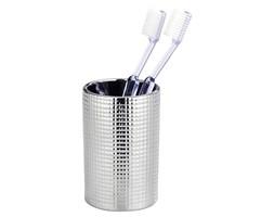 Kubek ceramiczny na szczoteczkę do zębów, pojemnik łazienkowy z ozdobnym wykończeniem - WENKO