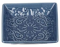Mydelniczka z wzorami w stylu rustykalnym, ceramiczna podstawka łazienkowa - WENKO