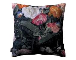 Dekoria Poszewka Kinga na poduszkę, wielobarwne kwiaty na ciemnym tle, 43 × 43 cm, Gardenia