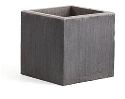 Donica betonowa, 600x600 mm, grafit