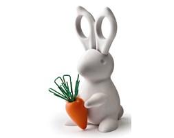 QUALY Desk Bunny przybornik na biurko, kolor biały QL10115-WH