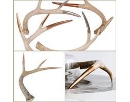 Broste Copenhagen  dekoracja L horn srebrna róg jeleń rogi jelenia