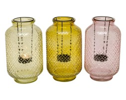 3x świecznik lampion latarnia koniczyna marokańska zestaw świeczników lampion