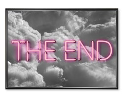 Plakat The End Holograficzny