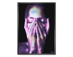 Plakat Zakryta Twarz Holograficzny
