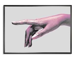 Plakat Dłoń Kobiety Holograficzny