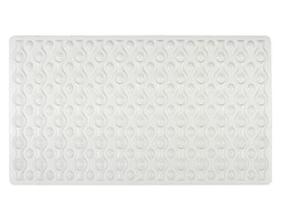 Mata kauczukowa do brodzika lub wanny, antypoślizgowy chodnik łazienkowy ROCHA - 70 x 40 cm, WENKO