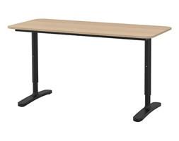 biurka ikea wyposażenie wnętrz homebook