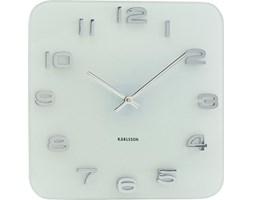 Zegar ścienny Vintage biały