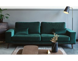 Sofa 3-seater Modena green