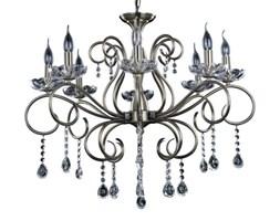 Żyrandol LAMPA wisząca MAESTRA 5311811 Spotlight pałacowa OPRAWA świecznikowa ZWIS z kryształkami MARIA TERESA patyna