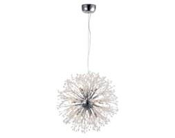 LAMPA wisząca FLASH ML3702 Milagro zwieszana OPRAWA z kryształkami kula ball crystal glamour przezroczysta srebrna