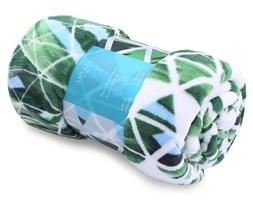 AmeliaHome - Koc Cuddle - Explosion - Biało-Zielony
