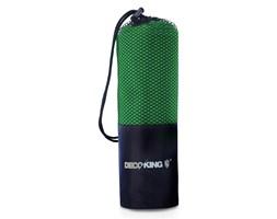 DecoKing - Ręcznik szybkoschnący z mikrofibry - EKEA - Ciemnozielony