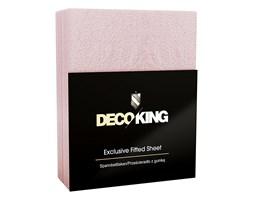 DecoKing – Prześcieradło Frota + Gumka - Wrzosowy