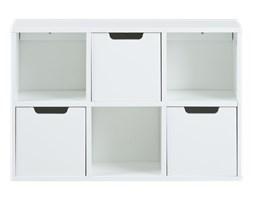 Półka Moira panel ścienny 58 cm biały