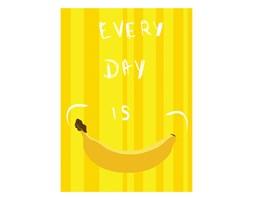 Bananowy plakat z uśmiechem do domu 6689 - Buy Design