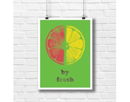 By fresh plakat do kuchni lub do lokalu 7751 - Buy Design