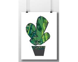 Plakat kaktus na ścianę 7092 - Buy Design